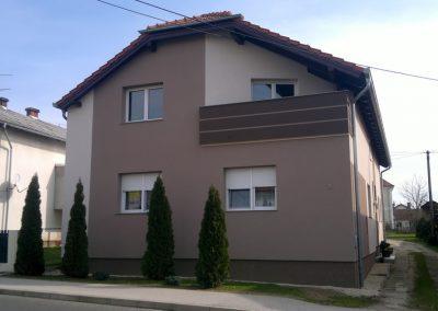 Toplinska fasada – obiteljska kuća Vratišinec